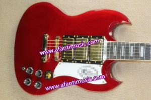 Mahogany Body & Neck / Afanti Electric Guitar (ASG-533) pictures & photos