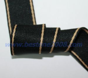 High Quality Polyester Webbing Tape for Bag#1501-65A pictures & photos