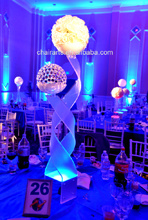 High Quality Acrylic LED Party Wedding Decorations Table Centerpieces