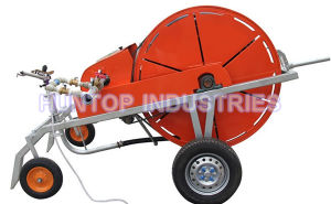 Hose Reel Irrigation Machinery with Rain Gun Sprinkler (HT7032) pictures & photos