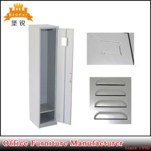 1 Tier Single Door Metal Furniture Clothes Wardrobe Cabinet Locker pictures & photos