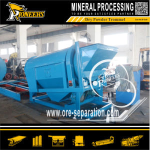 Dry Trommel Screen Rotary Screening Cylinder Powder Drum Screener pictures & photos