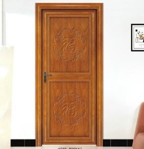 New Design Aluminum Wood Door Market (CL-D2018) pictures & photos