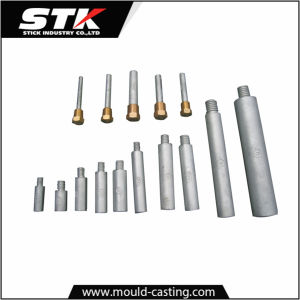 Zinc Anodes with Bolt on by Pressure Die Casting (STK-14-Z0068) pictures & photos