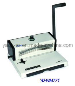 Double Wire Binding Machine (YD-WM771) pictures & photos