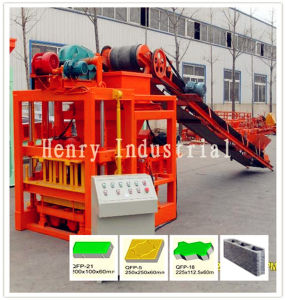 Qtj4-26c Automatic Vibration Block Making Machine with Conveyor Belt pictures & photos