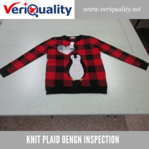 Knit Plaid Oengn Quality Control Inspection Service at Shangyu, Zhejiang pictures & photos