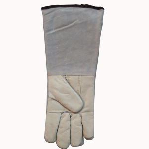 Premium Grain Leather Welding Gloves pictures & photos