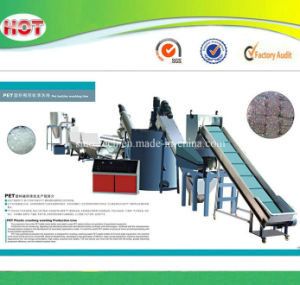 Pet Plastic Bottles Flakes Recycling Machines Line pictures & photos