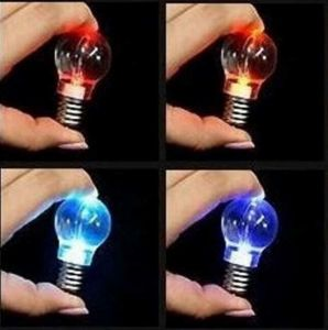 Flashing Bulb Keychain Lights with Logo Printed (4058) pictures & photos