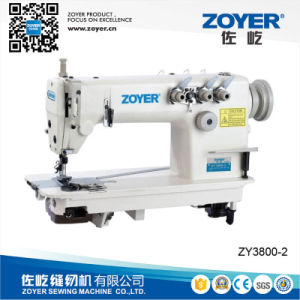 Zy3800-2 Zoyer Double Needle Chainstitch Sewing Machine pictures & photos