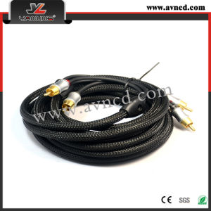 Car Parts Good Selling RCA Signal Cable Interconnect (R-063)
