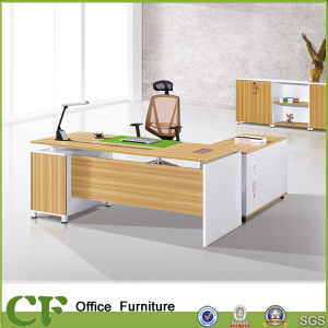 Wooden Office OEM Design Manager Desk pictures & photos