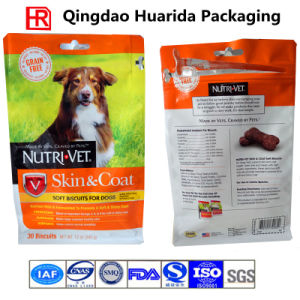 Customized Pet Food Bag, Zipper Bag with Side Gusset pictures & photos