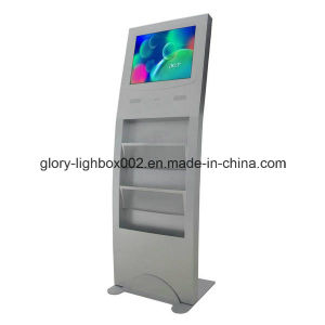 19 Inch 1080P HD Digital Signage Newspaper Holder Stand pictures & photos