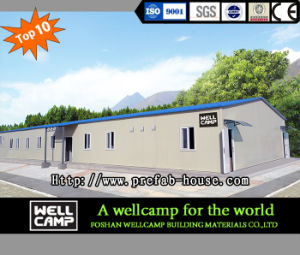 Oman Fire Proof Sandwich Panel Modern Prefab House for Sale pictures & photos