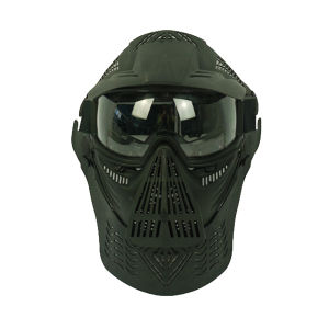 Full Face Airsoft Goggle Lens Mask w/Neck Protect pictures & photos