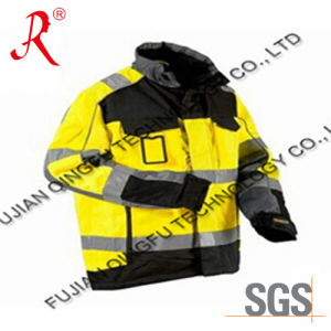 Mul- Pocket Reflective Safety Jacket for Outdoor (QF-537) pictures & photos