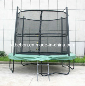 13ft Superb Round Trampoline with Safety Net and Ladder (SP134288N1)