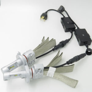 5shl 4000lm Philips Auto LED Headlight Kit H4 9007 pictures & photos