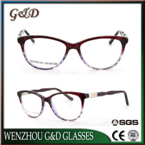 Fashion Design High Quality Acetate Glasses Frame Eyewear Eyeglass Optical Ncd1505-21 pictures & photos