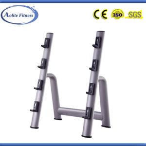 Gym Indoor Vertical Barbell Rack (ALT-9033) pictures & photos