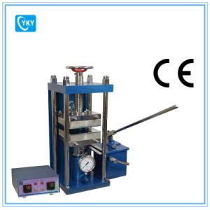 """350c - 25t Hydraulic Lamination Hot Press with Dual Temp. Controller & 8""""X 8"""" Platens Cy- Ylj-HP88V-350 pictures & photos"""