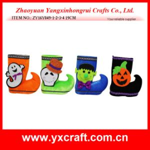 Halloween Decoration (ZY16Y049-1-2-3-4 19CM) Halloween Boot Cheap Halloween Gifts pictures & photos