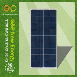 120W Solar Panel with Poly Type (GPP120W36) pictures & photos