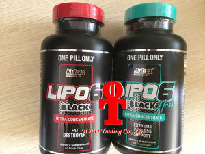 Nutrex Research Lipo 6 Black Ultra Concentrate Extreme Fat Loss Support 60 B Fast Slimming Capsules pictures & photos