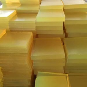 Polyurethane Sheet, PU Sheet with 100% Polyester Material pictures & photos