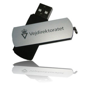 Swivel USB Memory Logo Printing Gift pictures & photos