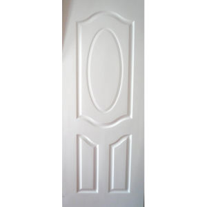 China Leading Supplier of White Primed Door Leaf (smooth/wood grain surface) pictures & photos