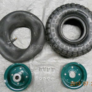 China Pneumatic Inflatable Rubber Wheel pictures & photos