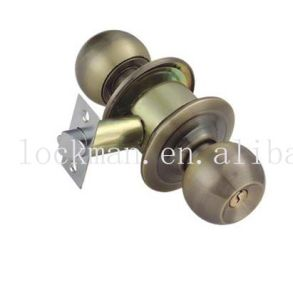 Cylindrical Door Knob Lock (KL-587) pictures & photos
