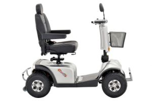 Four Wheels Electric Mobility Scooter with 1300W Motor pictures & photos