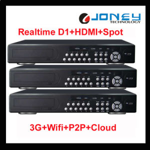 Competitive 16 Channel 3G WiFi P2p Realtime Full D1 16 CH DVR pictures & photos