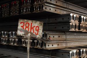 Steel Heavy Rail 38kg/M GB U71Mn