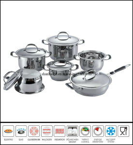 11PCS Stainless Steel Cookware Set pictures & photos