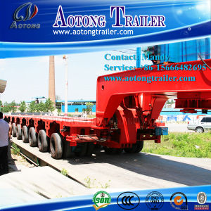 7 Line-Axle Hydraulic Steering Modular Trailer Truck pictures & photos