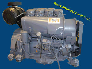 Deutz 4 Cylinder Air-Cooled Diesel Engine (F4L913) pictures & photos