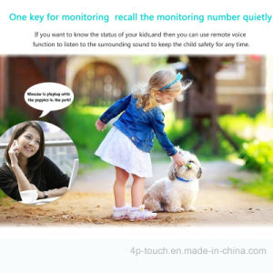 Colorful Touch Screen GPS Tracker Kidswatch with Multi-Languages (D13) pictures & photos