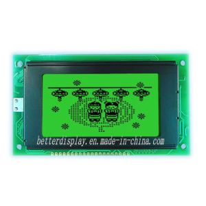 128*64 DOT Yellow/Green Background LCD Module Display pictures & photos