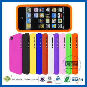 Soft Rubber Skin Silicone Cover Case for iPhone 5s pictures & photos