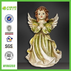 Craft Prayer Figurine Handmade Wedding Resin Girls Souvenir