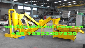 Cable Wire Granulator and Shredder, Telecommunication Cable Recycling Line