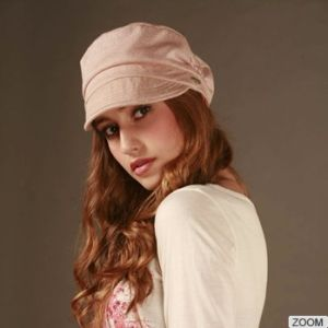 Hot Sell Fashion Pink Ladies Hat pictures & photos