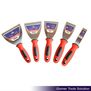 Comfortable Rubber Handle Putty Knife (T08106)