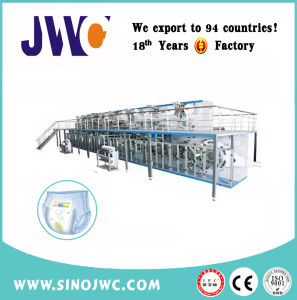 Full Servo Controlled Classic Type Baby Diaper Machine pictures & photos