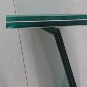 Cut Laminated Safety Tempered Glass for Building Glass pictures & photos